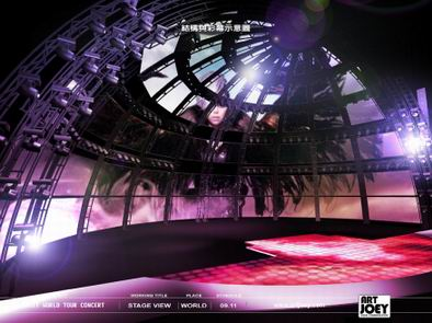 concert stage design amit century world tour concert 2010 taiwan pic p2 - Concert Stage Design Ideas