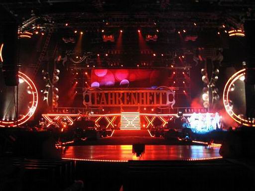 Car Sound Effects >> Fahrenheit World Tour Concert 2008 Hong Kong - Concert Stage Design - Artjoey Visual Communication