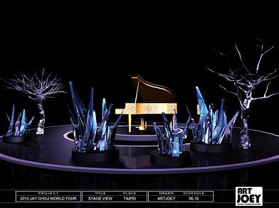 Concert S Props And Set Design Concept Jay Chou The Era