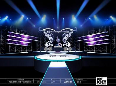 Concert Stage Design Ideas info stage design of lee min hos fanmeeting in china stage design lee min ho and in china Concert Stage Design Jolin Mini Concert In Tai Chung Taiwan 2009 Pic 1