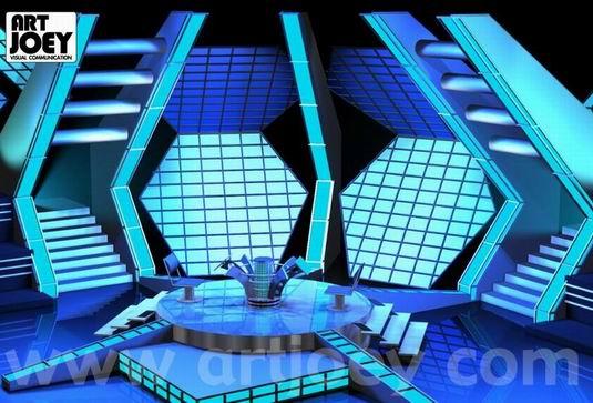 Millionair Game Show Mediacorp Set Design 2000 Singapore