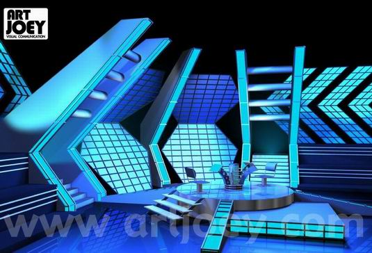 Millionair Game Show Mediacorp Set Design 2000 Singapore