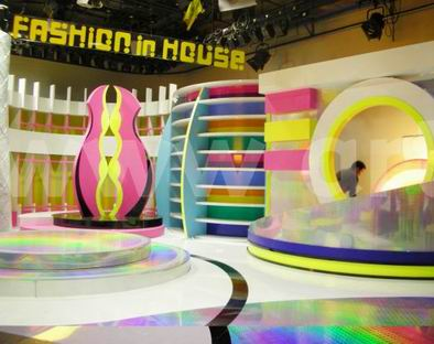 Fashion in house show television set design 2009 taiwan Home architecture tv show